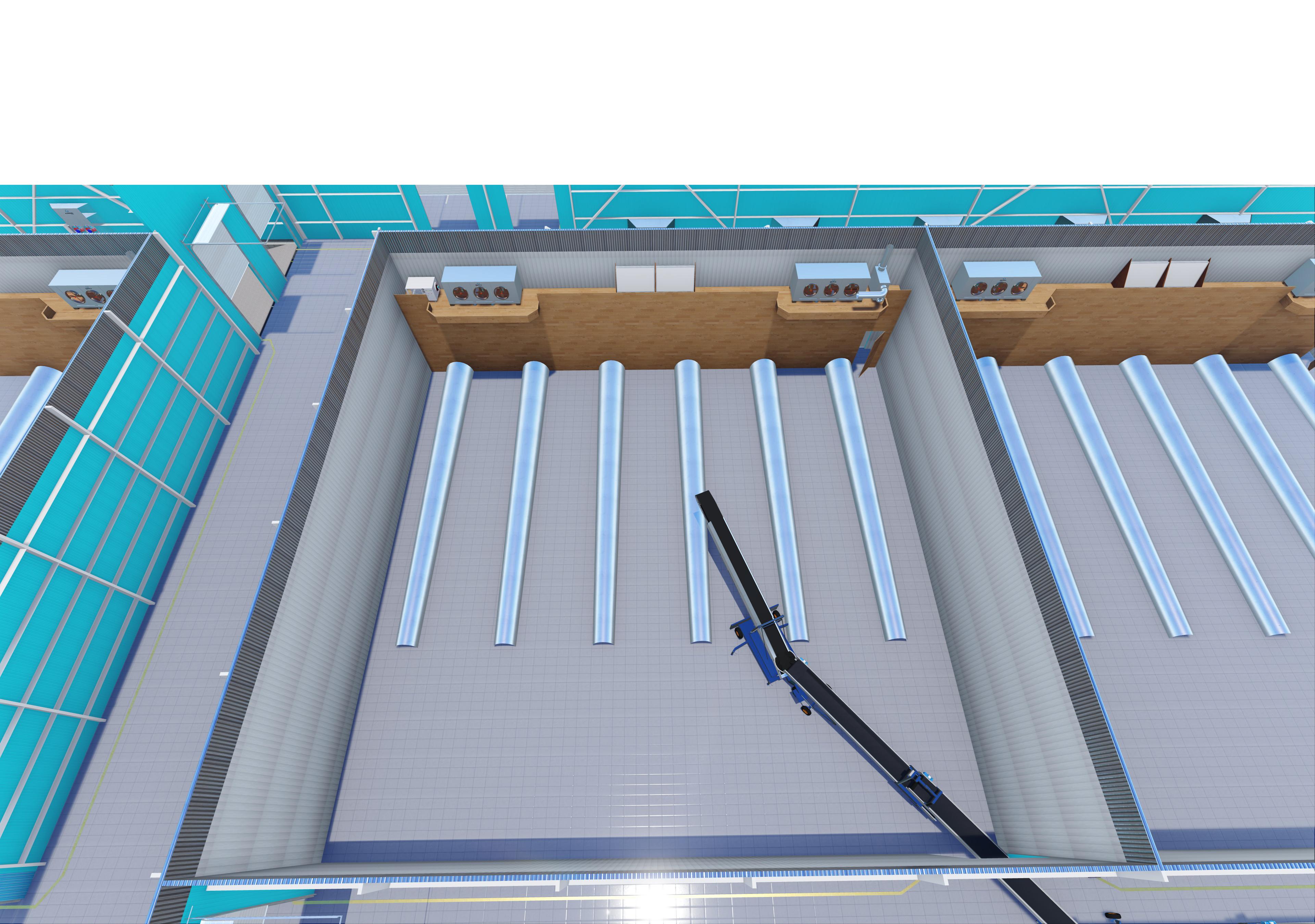 bulk with loading belt