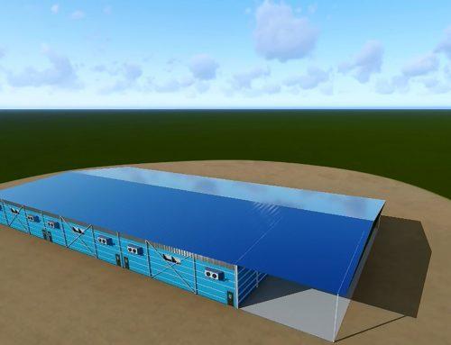 Distribution center 6000 tons storage