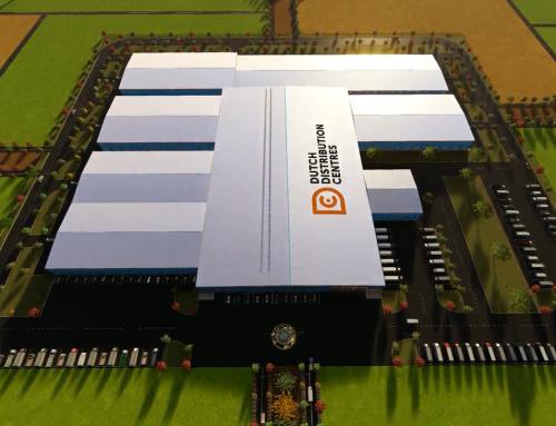 Distribution centre 60.000 tons storage