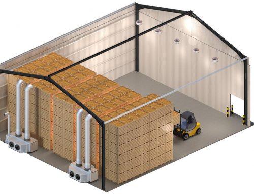 Box storage room ventilation