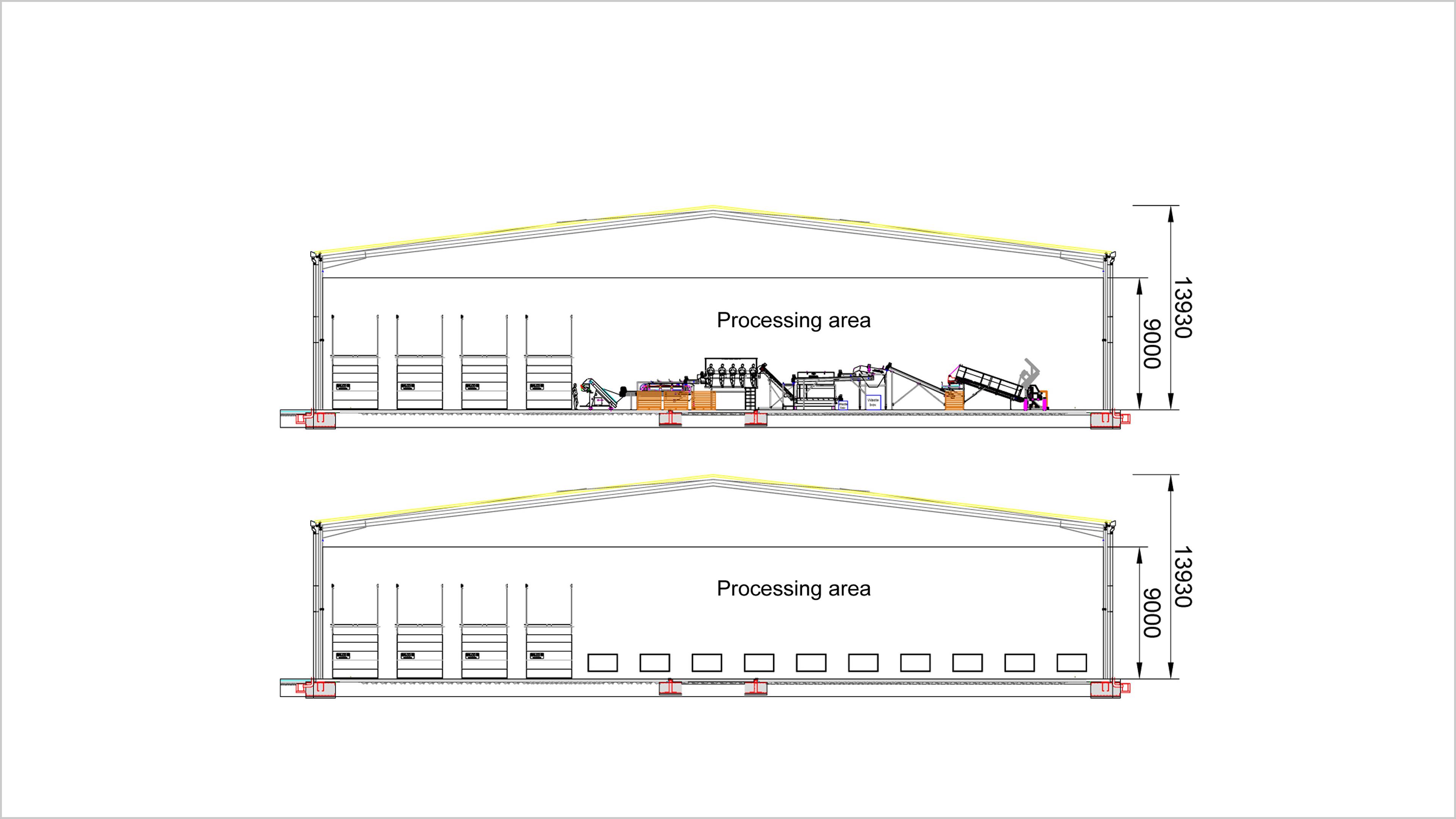 Processing area 2d