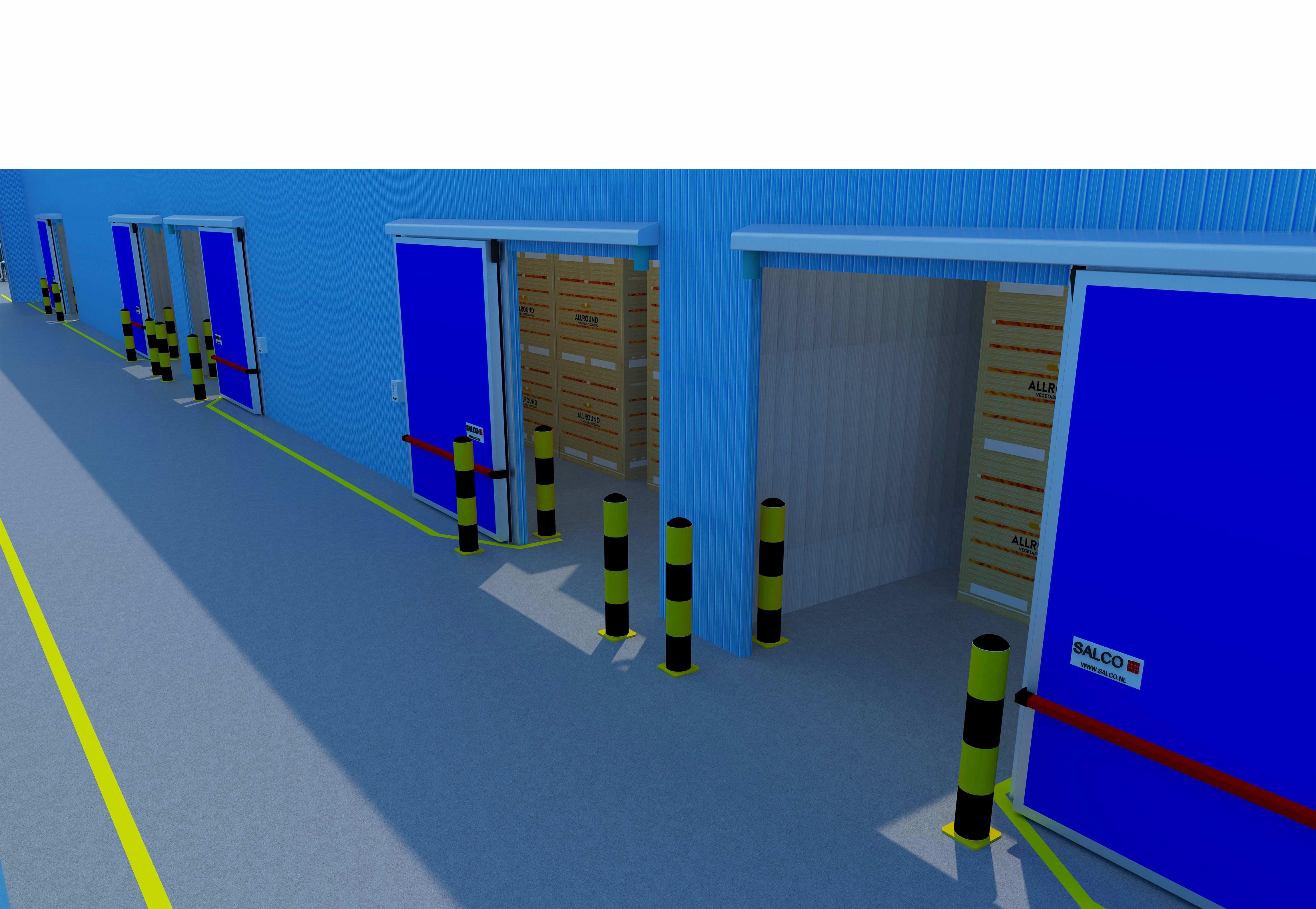 Salco storage doors