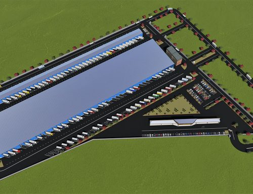 Cross docking distribution centre